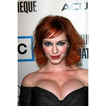 Christina Hendricks Poster Low Cut Cleavage 27inx40in