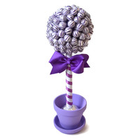 Small Lollipop Candy Topiary (Purple)