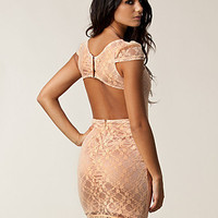 Open Back Lace Dress, Rare London