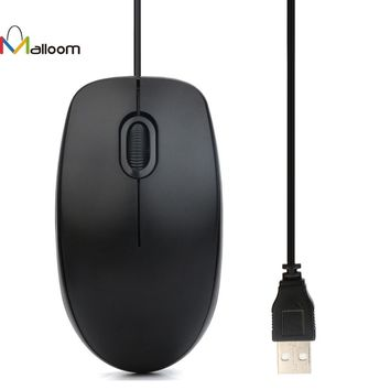 Rechargeable Wired Mouse Gaming 2 Button Mouse