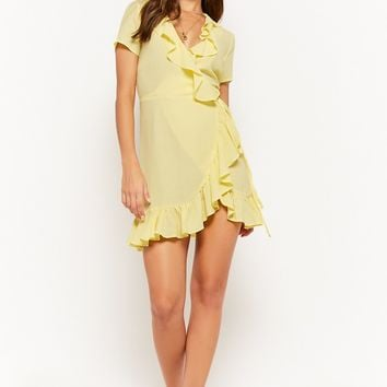 The Style Club Ruffle-Trim Homecoming Dress