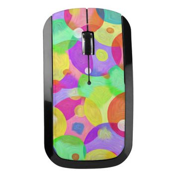Colorful Wireless Mouse