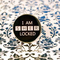 Sherlocked BBC Sherlock Resin Ring by HallofFemme on Etsy