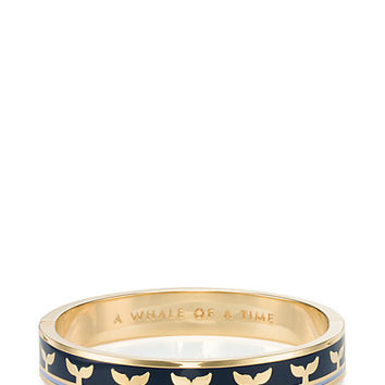 Kate Spade Whale Of A Time Hinged Idiom Bangle Navy Multi ONE