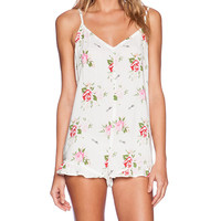 Wildfox Couture Ruffle Romper in White