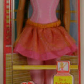 Barbie Doll I Can Be Ballerina Blonde Ankles Move Cloth Skirt Online Code Shoes