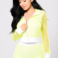 Sensi Jacket - Neon Yellow
