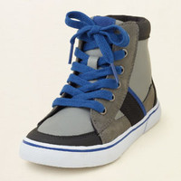 boy - shoes - indie hi-top sneaker | Children's Clothing | Kids Clothes | The Children's Place