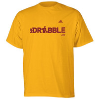 Kyrie Irving Cleveland Cavaliers adidas Silhouette Graphic T-Shirt - Gold