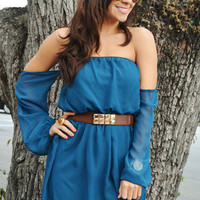 Happily Ever After Dress: Teal | Hope's