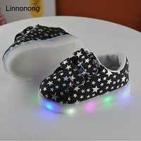 LED Toddlers Glowing Sneakers