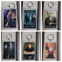 X Files Keychains