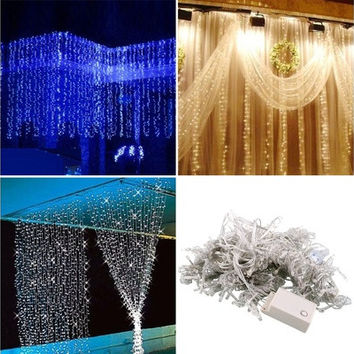 10M 100 LED Charming Fairy String Light Christmas Wedding Party Decor Lamp (220V  EU Plug) [7982974471]