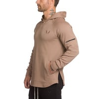 Mens fashion Leisure brand hoodies gyms Fitness bodybuilding Sweatshirt Crossfit pullover sportswear male Hooded Jacket clothing