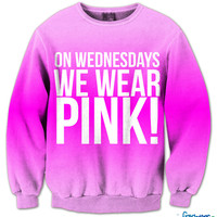 On Wednesdays We Wear Pink Crew Neck