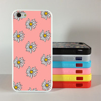 Daisy iPhone 4 Case, iphone 5s cover, iPhone 5c 5s Hard Case personalize ,cover skin case for iphone 5c/5s case, Silicon Rubber
