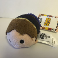 disney usa authentic star wars han solo tsum mini plush new with tags