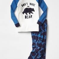 Gap Baby Graphic Baseball Tee Sleep Set