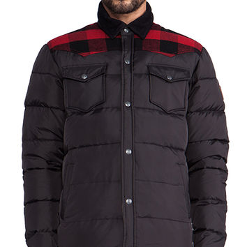 Penfield Rockford Lightweight Down Jacket in Black