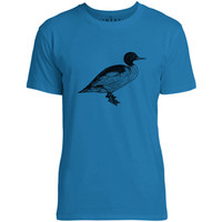 Mintage Slim Billed Duck Mens Fine Jersey T-Shirt