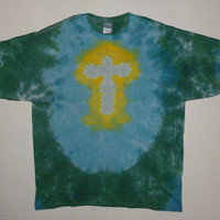 Tie Dye Cross Shirt - Any Size, Style, & Color Combination Available