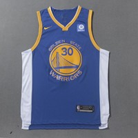 Golden State Warriors #30 Stephen Curry Nike Icon Edition NBA Jerseys - Best Deal Online