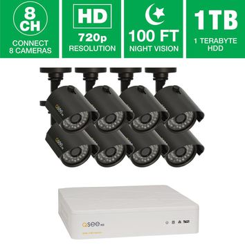 Q-SEE 8-Channel Video Surveillance System