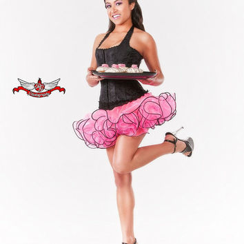 Tutu Skirt Pin up Pinup Cupcake Skirt Miniskirt