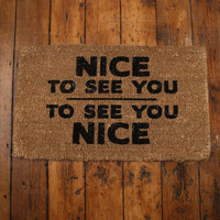 Urban Outfitters  - Nice To See You Doormat