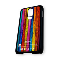 Apple Wood Patter Samsung Galaxy S5 Case