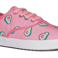 Cute Printed Sneaker - Casual Fashion Lace Up Shoe - Easy Comfortable Flat - Kodi by Cute to the Core