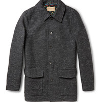 Levi's Made & Crafted - Flecked Bouclé Coat | MR PORTER