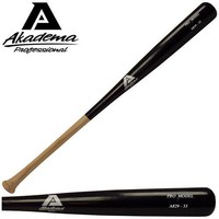 Akadema A843-34 Pro Level Quality Adult Amish Wood Baseball Bat 34 Inch