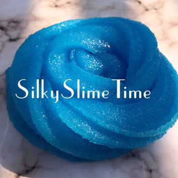 Blue Raspberry Slushy Slime