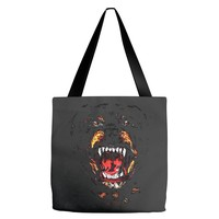 givenchy dog Tote Bags