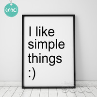 Life Quote Canvas Art Print Painting Poster,  Wall Pictures for Home Decoration, Home Decor YE104