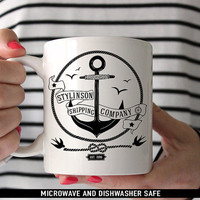 Stylinson Shipping Company Mug - Larry Stylinson Coffee Mug