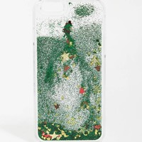 Skinnydip | Skinnydip Christmas Tree Liquid Glitter iPhone 6 Case at ASOS
