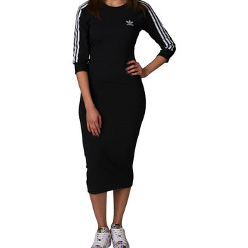 Adidas ADIDAS 3 STRIPE DRESS - Black | Jimmy Jazz - BK0016-001