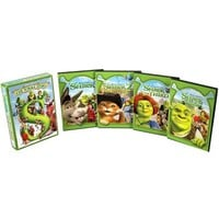 Shrek: The Whole Story (5 Discs) (Widescreen) (Restored / Remastered, Dual-layered DVD)