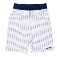 Undefeated Pinstripe Short In White