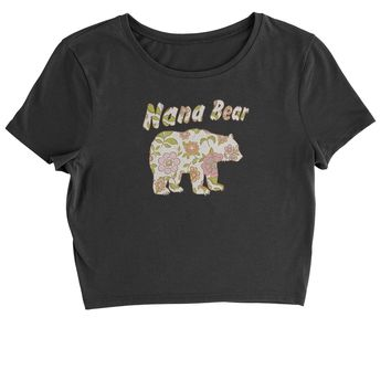 Expression Tees Nana Bear Floral Camo Youth-Sized Hoodie
