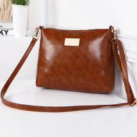 Brown Vintage Shoulder Bag