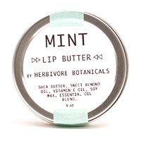 Lip Butter. New Larger Sizes. 1 oz.