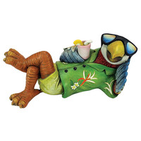 Park Avenue Collection Just Chillin Tiki Parrot Statue