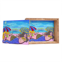 Renie Britenbucher Beached Mermaids Jewelry Box