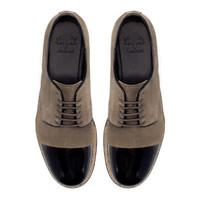 BLUCHER WITH CONTRASTING TOE CAP - Shoes - Shoes - Man | ZARA United States
