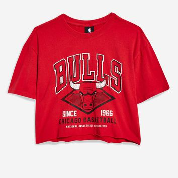 Red Bulls Cropped T-Shirt by UNK X Topshop - T-Shirts - Clothing