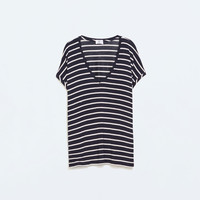 Square cut t-shirt