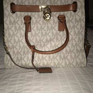 MICHAEL Michael Kors Women's Large Hamilton MK Signature tote bag
